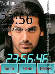John Abraham Theme-Screenshot