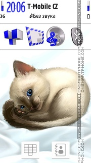 Siamese Cat theme screenshot