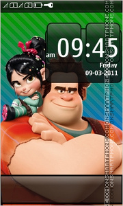 Detona Ralph - Wreck-It Ralph theme screenshot