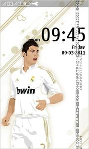 Cristiano Ronaldo 09 theme screenshot