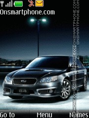 Subaru Legacy theme screenshot