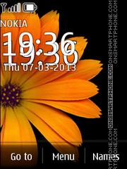 Скриншот темы Saffron