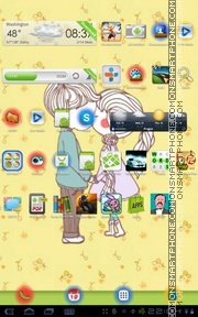 Love Ripple tema screenshot