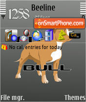 Pitbull 01 theme screenshot