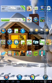 Frost 01 theme screenshot