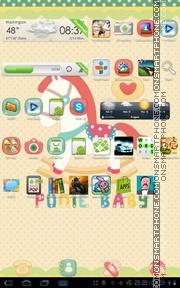 Poniebaby tema screenshot
