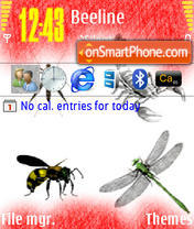 Insect es el tema de pantalla