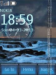 Скриншот темы Night Sea