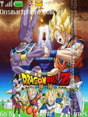 Dragon Ball Z Battle of Gods theme screenshot