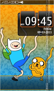 Adventure Time 01 tema screenshot