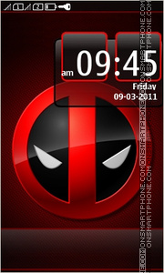 Deadpool 02 tema screenshot