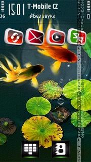 Goldfish HD es el tema de pantalla