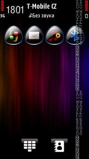 Rainbow Fibers es el tema de pantalla