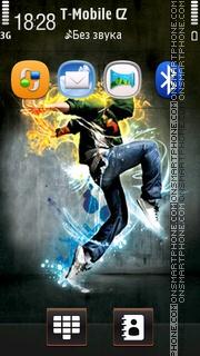 The Performer 01 theme screenshot
