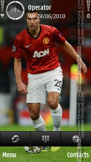 Robin van Persie theme screenshot