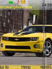 Скриншот темы Chevrolet Camaro - Transformers