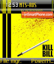 Kill Bill 02 theme screenshot