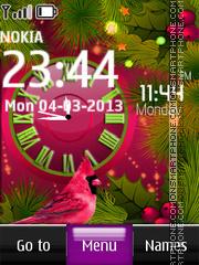 Скриншот темы Nature Dual Clock 05