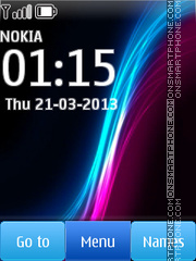 Xperia Z HD theme screenshot