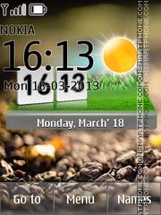 Nature Live Weather theme screenshot