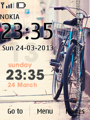 Bike InCity tema screenshot