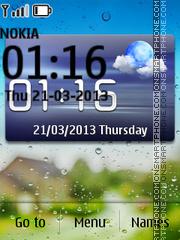 HD Widget Weather theme screenshot