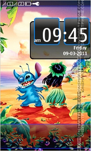 Lilo & Stitch 01 theme screenshot
