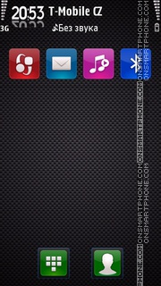 Carbon v2 theme screenshot