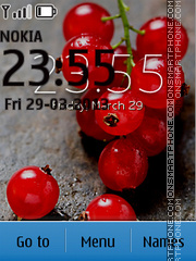 Android 4.2 Berries theme screenshot