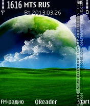 Green-World theme screenshot