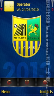 Metalist 2013 tema screenshot