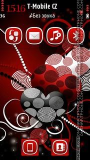Sweet Hearts 01 theme screenshot