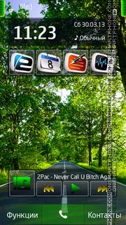 Road es el tema de pantalla