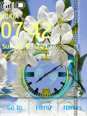 Spring Clean tema screenshot