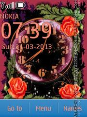 Flowers of love theme screenshot