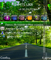Road S60v3 theme screenshot