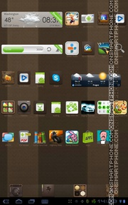 Choco 02 theme screenshot