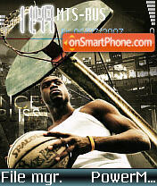 Streetball theme screenshot