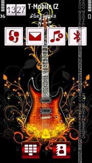 Rocking Music HD es el tema de pantalla