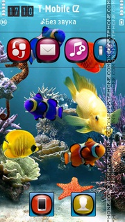 Aquatica HD es el tema de pantalla
