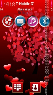 Love HD theme screenshot