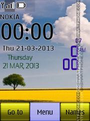 Android Nature Widget theme screenshot