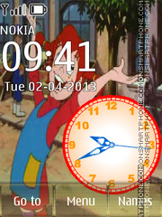 Pippi Longstocking theme screenshot
