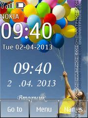The balloons Theme-Screenshot