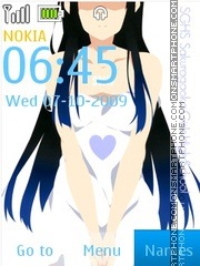 Mio SGHS theme screenshot