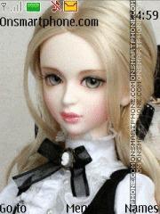 Cute Doll 10 theme screenshot