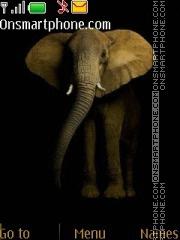 Скриншот темы Elephant 04