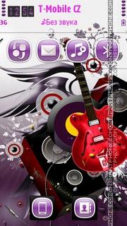Music Flyers 01 es el tema de pantalla