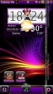 Purple es el tema de pantalla