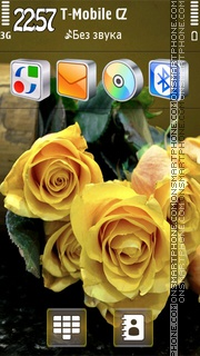 Charming Rose HD v5 theme screenshot